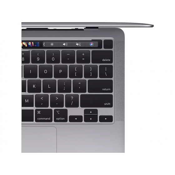 "Apple - 13,3"" MacBook Pro Touch Bar MYD82FN/A - Puce Apple M1 - RAM 8Go - Stockage 256Go - Gris Sidéral - AZERTY"