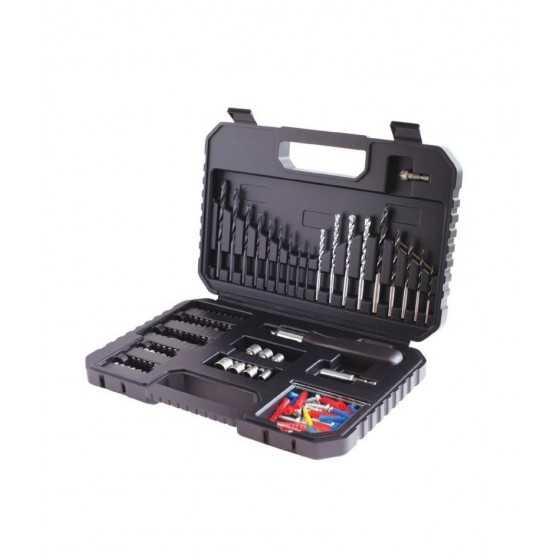 Coffret perçage vissage avec 120 accessoires BLACK & DECKER
