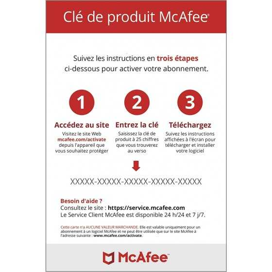 McAfee Total Protection 2021 | 5 appareils | 1 an| Antivirus| Téléchargement