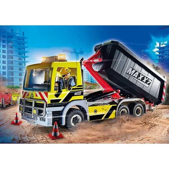 Playmobil 70444 Camion avec benne et plateforme interchangeables