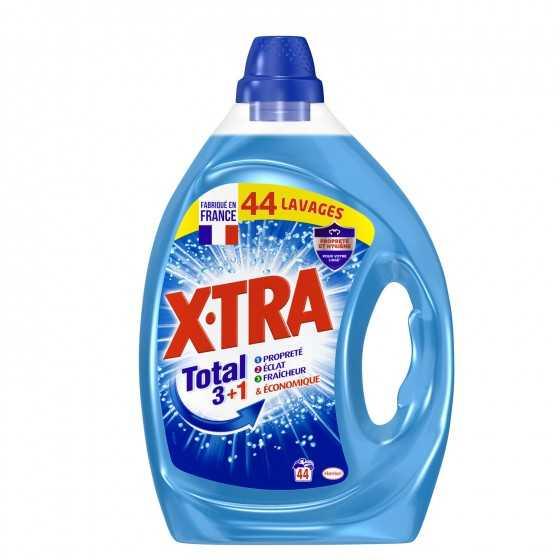 Lessive liquide total+...