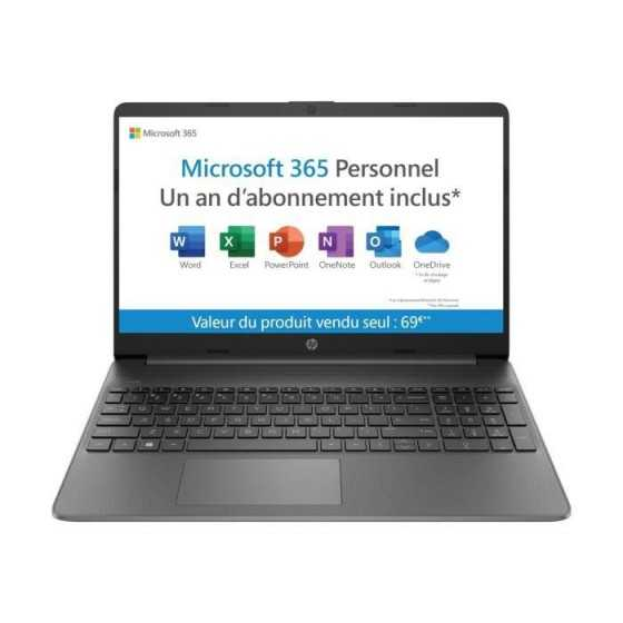 HP PC Portable 15s-fq0025nf