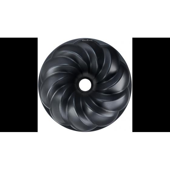 Moule à kouglof TEFAL incurves geometriques noir 25 cm