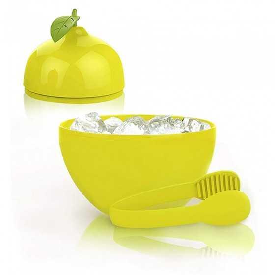 Seau à glaçon citron + pince