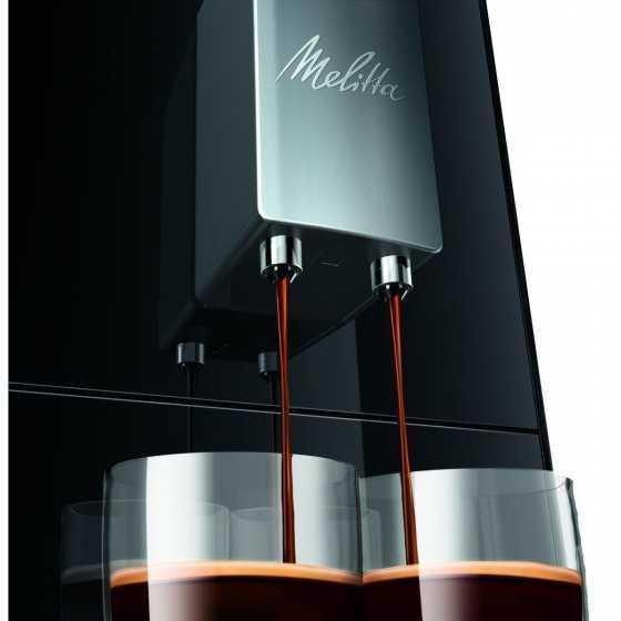 Melitta Solo Noir E950-101 Machine à Café et Expresso Automatique avec broyeur à grains