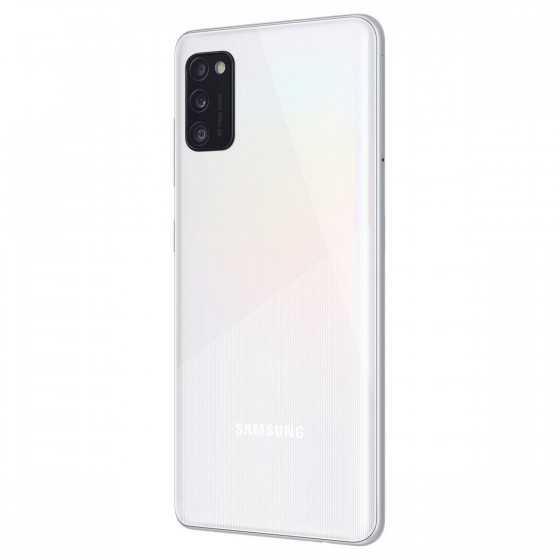 SAMSUNG Galaxy A41 64 Go 6.1 pouces Blanc 4G Double port NanoSim