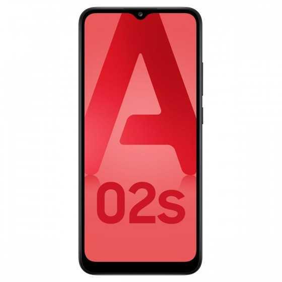 SAMSUNG Galaxy A02s 4G 32 Go 6.5 pouces Noir Double NanoSim