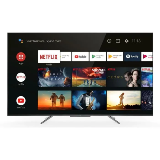 "TCL 55QLED790 - TV QLED UHD 4K - 55"" (139cm) - Android TV - Dolby Vision - son Dolby Atmos - 3 x HDMI - 2 X USB - Classe G"