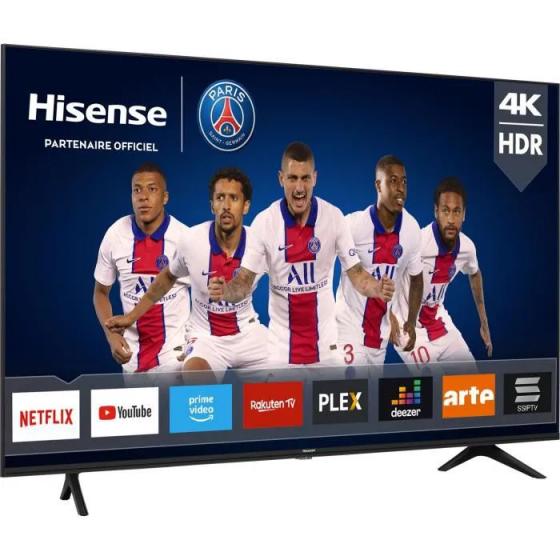 """HISENSE 58AE7000F - TV LED 58"""" (146cm) UHD 4K - HDR 10+ - Ecran sans bord - Smart TV - 3xHDMI"""