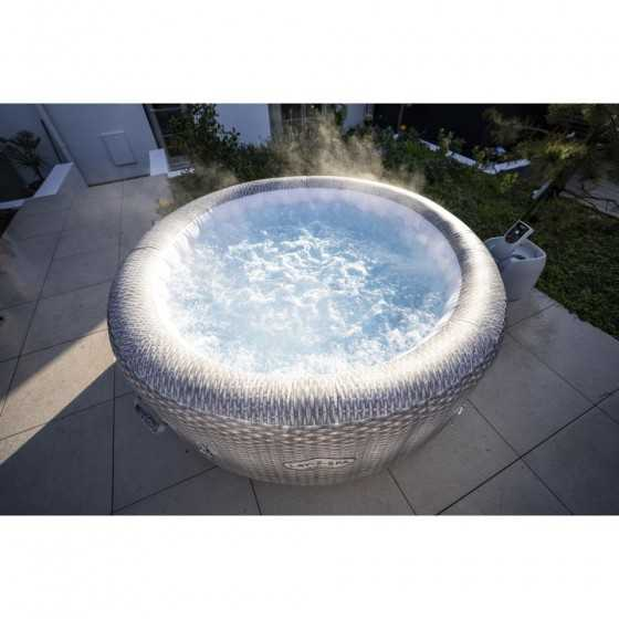BESTWAY Spa Gonflable Lay-Z-Spa Honolulu Pour 4-6 personnes Rond 196x71 cm