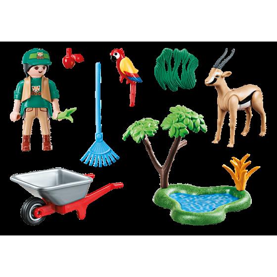 Playmobil 70295 Set cadeau Soigneur