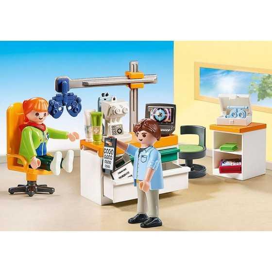 Playmobil 70197 Cabinet d'ophtalmologie