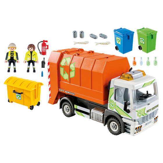 Playmobil 70200 Camion de recyclage des ordures