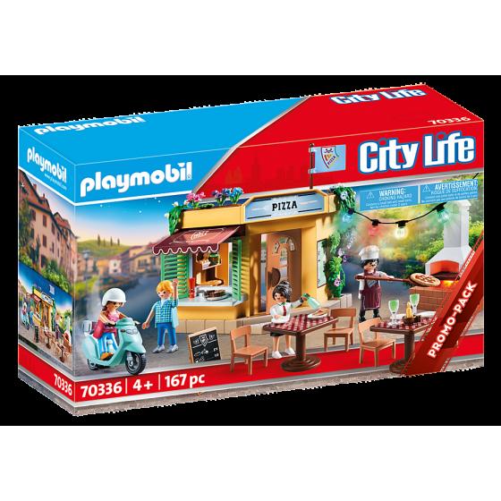 Playmobil 70336 Pizzeria avec terrasse