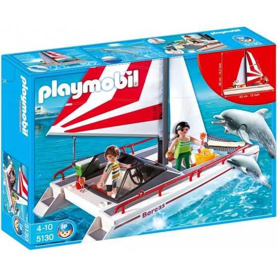 Playmobil 5130 Catamaran et dauphins