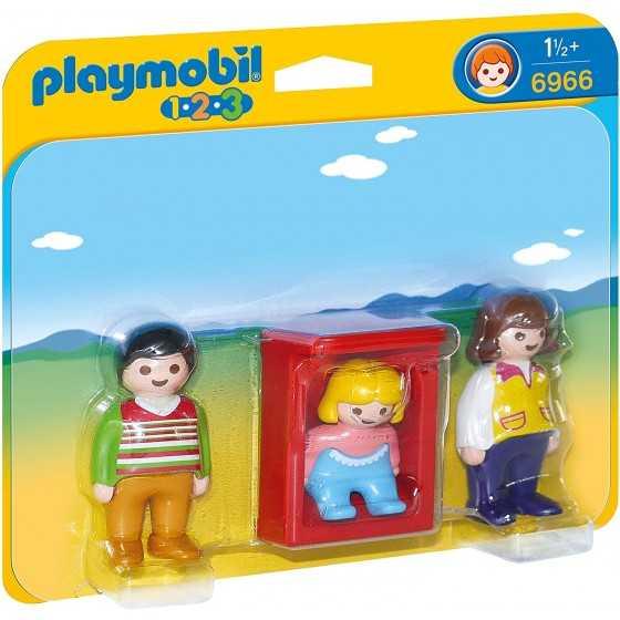 Playmobil 6966 Parents avec bébé dans le berceau