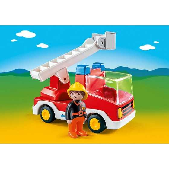 Playmobil 6967 Camion de pompier avec échelle pivotante