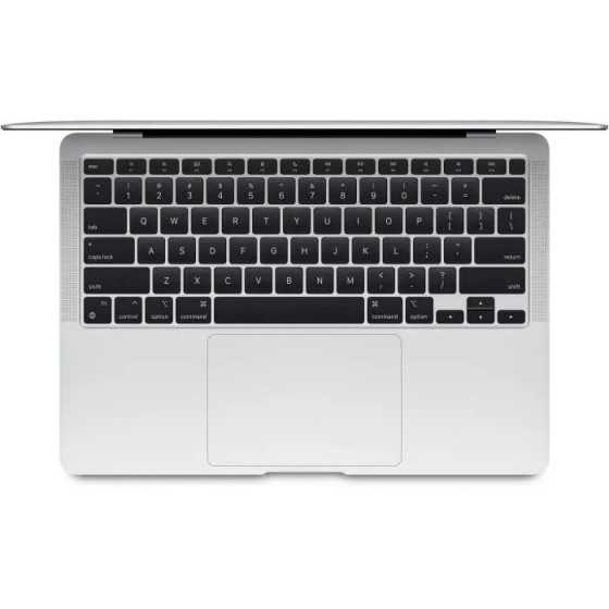 "Apple - 13,3"" MacBook Air (2020) - Puce Apple M1 - RAM 8Go - Stockage 256Go - Argent - AZERTY"