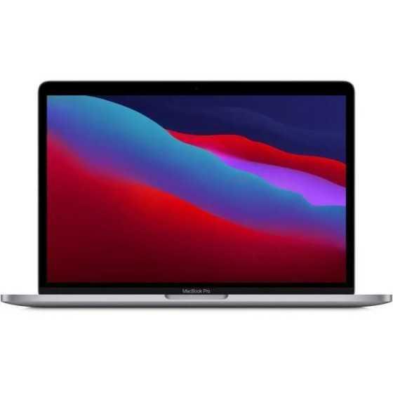 "Apple - 13,3"" MacBook Pro Touch Bar (2020) - Puce Apple M1 - RAM 8Go - Stockage 256Go - Gris Sidéral - AZERTY"