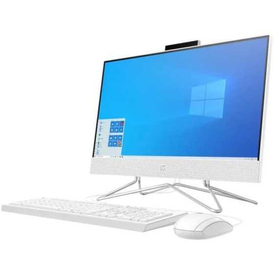 "HP PC All-in-One 22-df0123nf - 22""HD - Celeron J4025 - RAM 4Go - Stockage 128Go SSD - Windows 10"