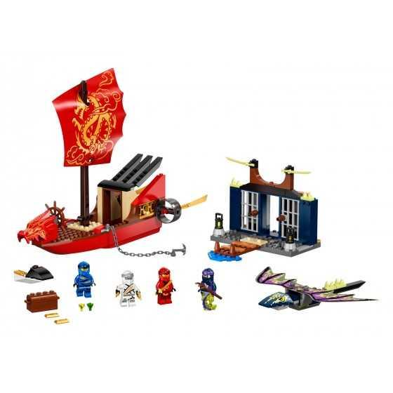 Lego 71749 L'ultime QG des ninjas