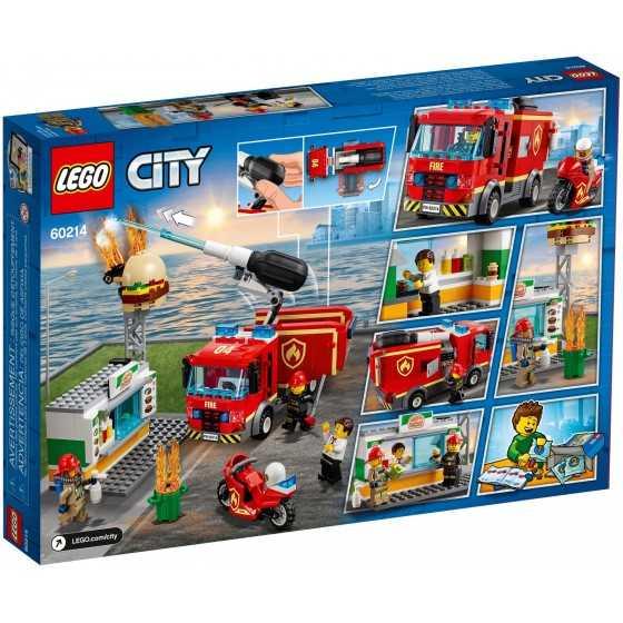 Lego 60214 L'intervention des pompiers au restaurant de hamburgers