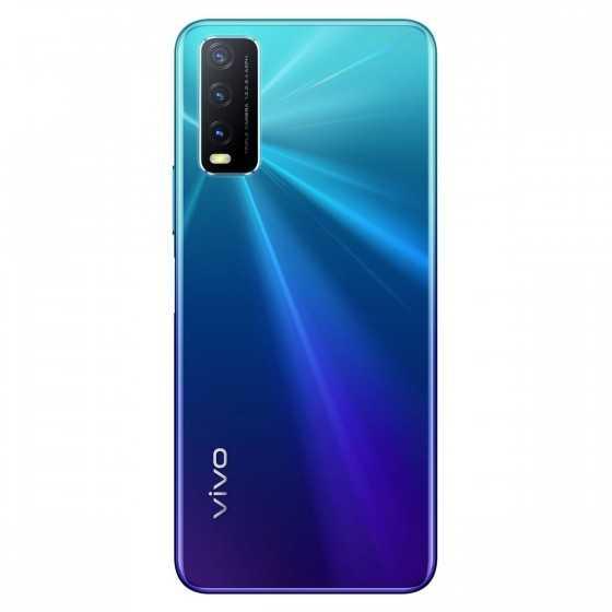 VIVO Smartphone Y20s 4G 128 Go 6.51 pouces Bleu Double Sim