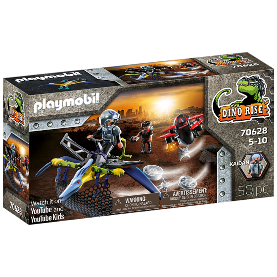 Playmobil 70628 Ptéranodon et drone
