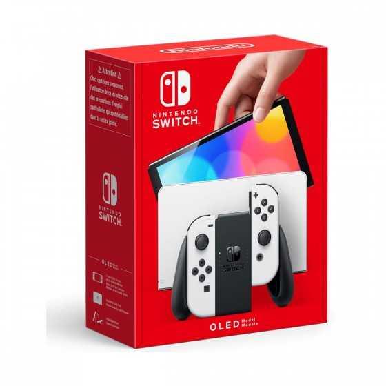 Console Nintendo Switch (modèle OLED) Joy-Con Blanc