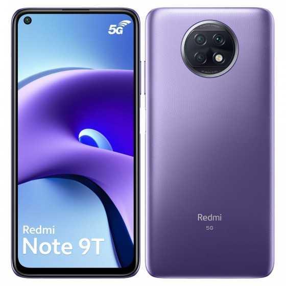 XIAOMI Smartphone Redmi Note 9T 128 Go 6.53 pouces Violet 5G