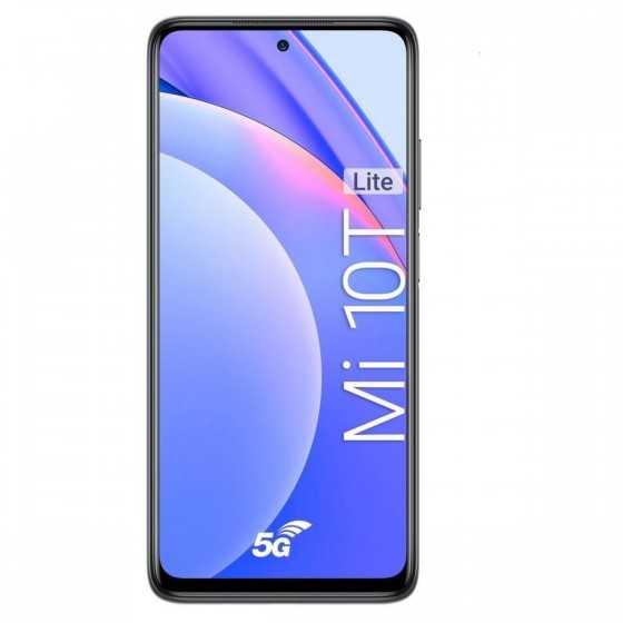 XIAOMI Smartphone Mi 10T Lite 5G 128 Go 6.67 pouces Gris Double Sim