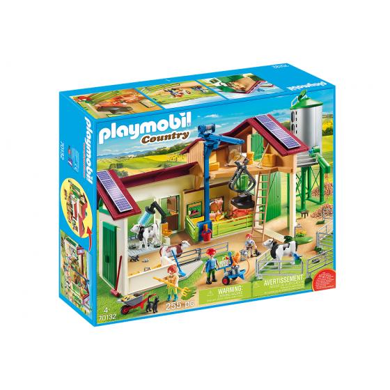 Playmobil 70132 Grande ferme avec silo et animaux