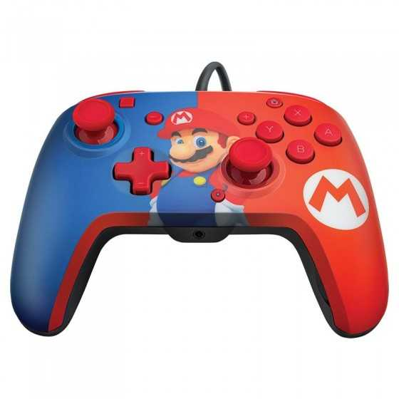 PDP Manette filaire Mario SWITCH