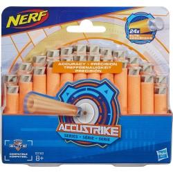Nerf - Pack de 24 Fléchettes Nerf Accustrike Officielles