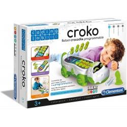 Clementoni- Coding Lab-Coko, Robot Crocodile programmable