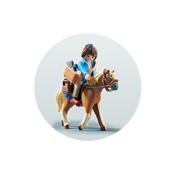 Playmobil 70072 THE MOVIE Marla avec cheval