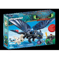 Playmobil 70037 Krokmou et...