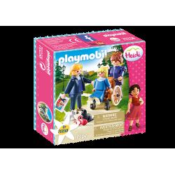 Playmobil 70258 Clara avec son père et Mlle Rottenmeier