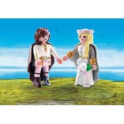 Playmobil 70045 Astrid et Harold en tenue de mariage