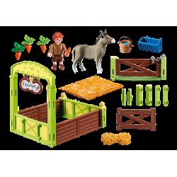 Playmobil 70120 La Mèche et Monsieur Carotte avec box