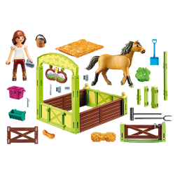Playmobil 9478 Lucky et Spirit avec box