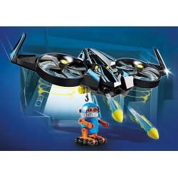 Playmobil 70071 THE MOVIE Robotitron avec drone
