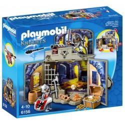 """Playmobil 6156 Coffre """"Pièce du trésor des chevaliers"""""""