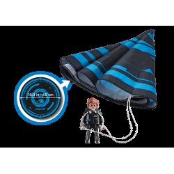 Playmobil 70070 THE MOVIE Rex Dasher avec parachute