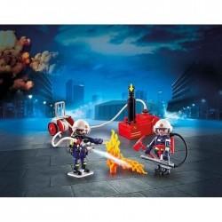 Playmobil 9468 Pompiers avec matériel d'incendie