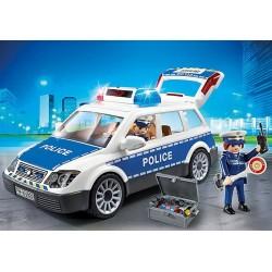 Playmobil 6920 Voiture de policiers avec gyrophare et sirène
