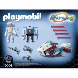 Playmobil 9003 Super 4 Sky Jet et Docteur X