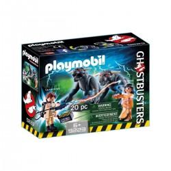 Playmobil 9223 Venkman et les chiens de la terreur
