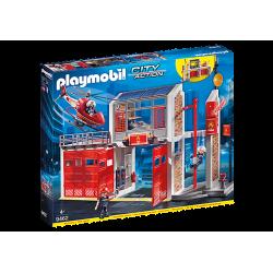 Playmobil 9462 Caserne de...