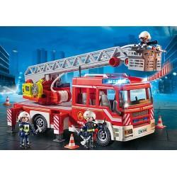 Playmobil 9463 Camion de pompiers avec échelle pivotante